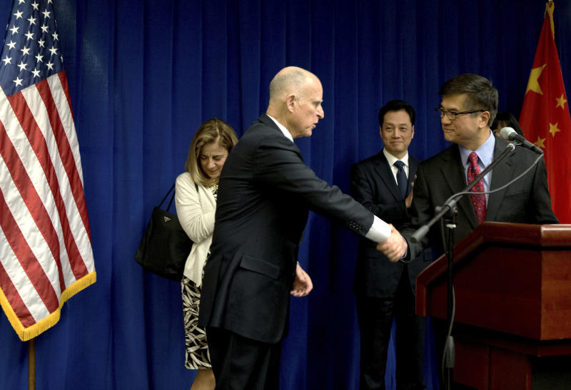 China and California sign deal to boost investment