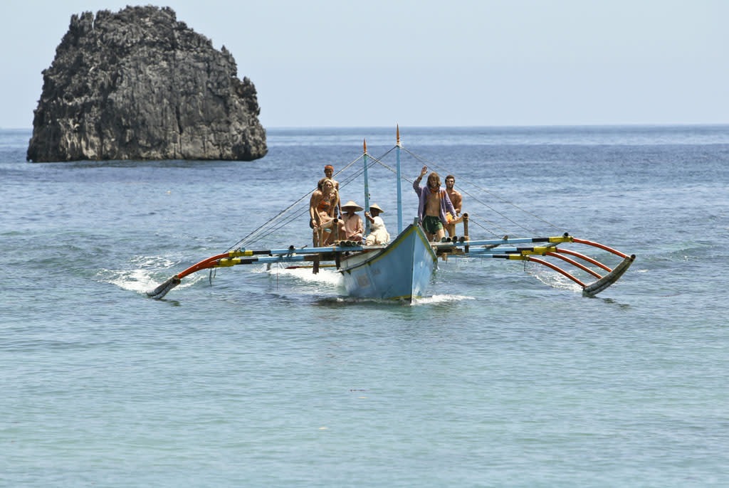 """""""Blindside Time"""" - The Gota Tribe gets ready for the merge during the eighth episode of """"Survivor: Caramoan - Fans vs. Favorites."""""""