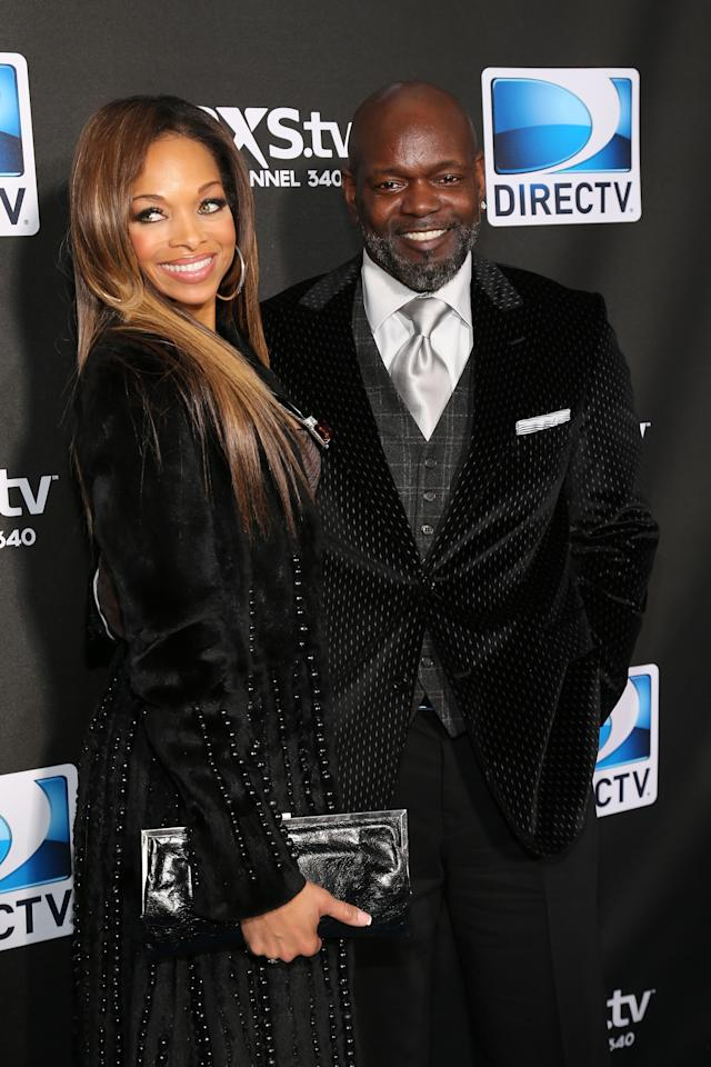 NEW ORLEANS, LA - FEBRUARY 02:  Patricia Southall and Emmitt Smith attend DIRECTV Super Saturday Night Featuring Special Guest Justin Timberlake & Co-Hosted By Mark Cuban's AXS TV on February 2, 2013 in New Orleans, Louisiana.  (Photo by Neilson Barnard/Getty Images for DirecTV)