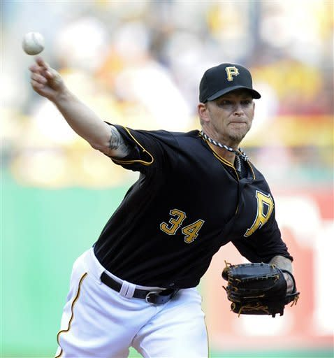 Burnett, Pirates shut down Tigers 4-1