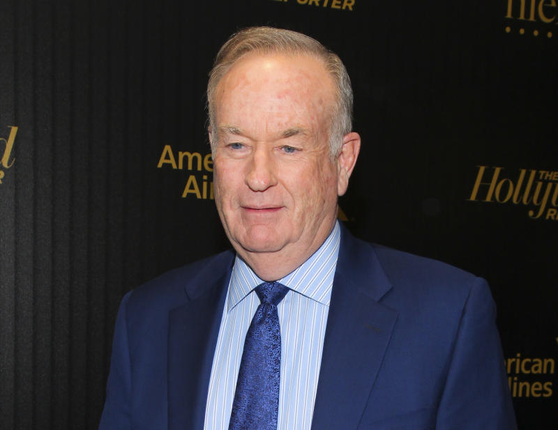 Bill O'Reilly attends The Hollywood Reporter's