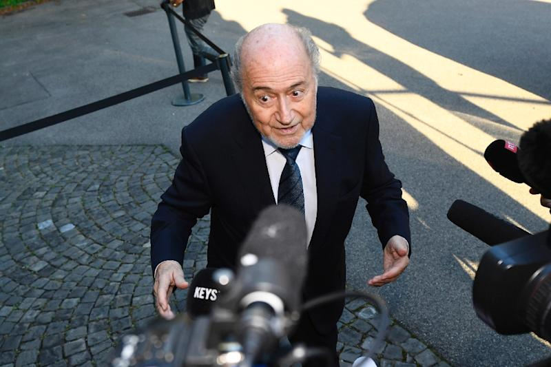 Blatter investigated for