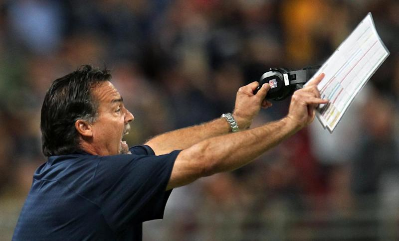 Rams coach Fisher squelches rumors of USC job
