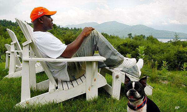 Thurman Thomas Lake George