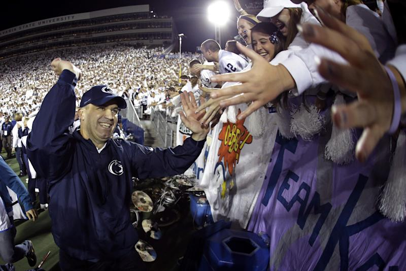 Penn State riding high after Michigan win