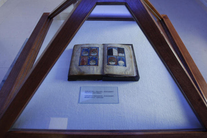 Prized Bosnian cultural relic won't show in NYC