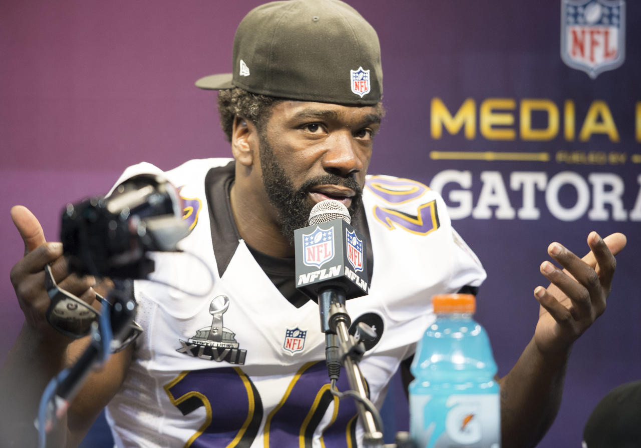 Ravens safety Ed Reed