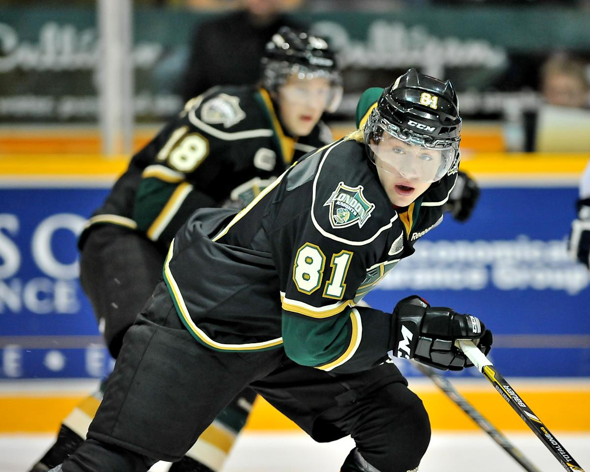 Remi Elie of the London Knights.