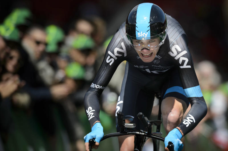 Froome wins time trial for Romandie victory
