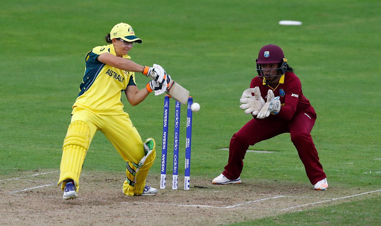 Cricket - Australia vs West Indies - Women's Cricket World Cup - The Cooper Associates County Ground, Taunton, Britain - June 26, 2017   Australia's Nicole Bolton in action   Action Images via Reuters/Peter Cziborra