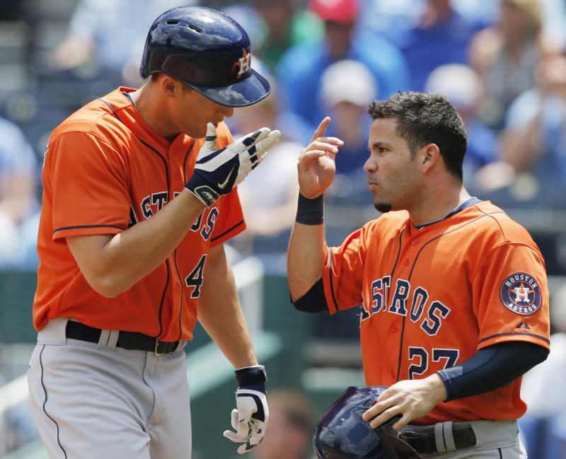 Carter 2 HRs, Springer HR, Astros win 5th in row