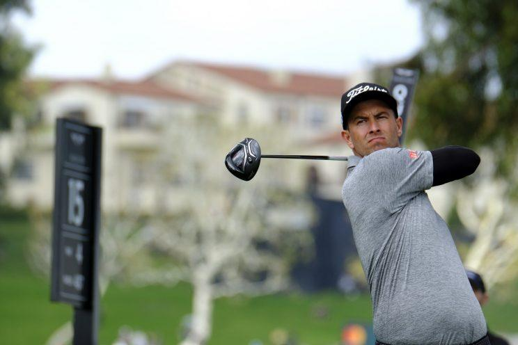 Adam Scott had a good 2017 PGA Tour debut at Riviera. More