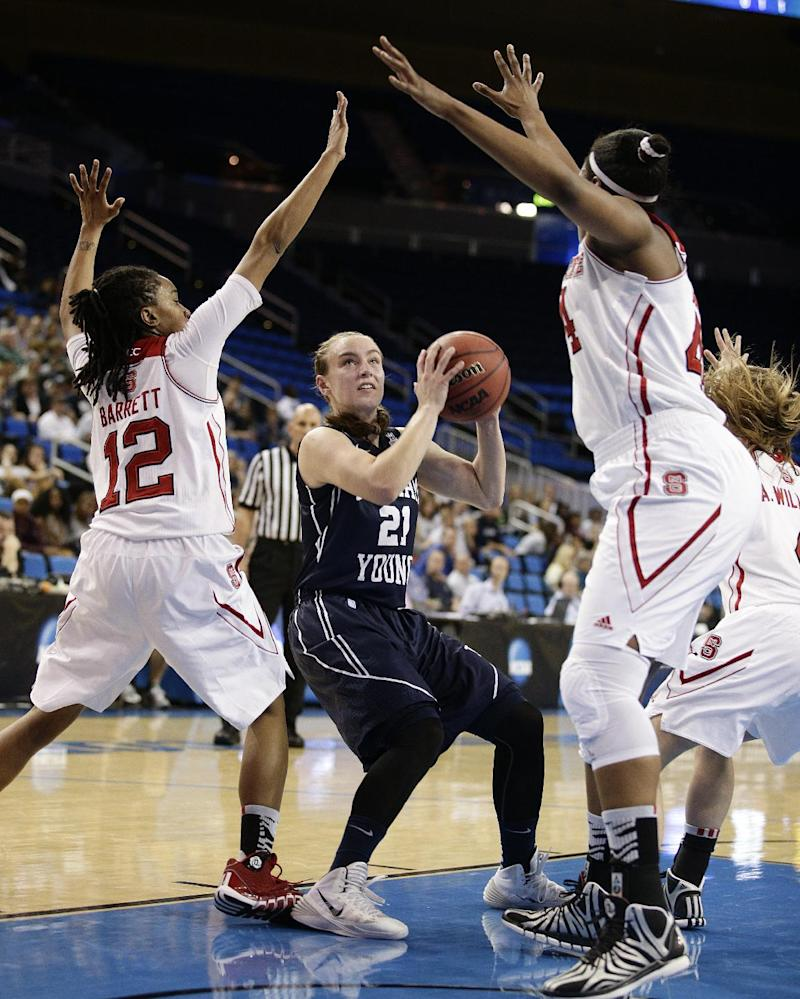 BYU women upset fifth-seeded NC State