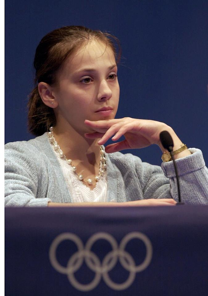 Romanian gymnast Andreea Răducan tested positive for a banned substance at the 2000 Sydney Games, but the test itself was surrounded by controversy. Răducan and her coaches argued the reason the then-16-year-old tested positive for pseudoephedrine was due to an over-the-counter medication the team doctor had prescribed her to treat cold-like symptoms. Although she was stripped of her gold medal in the all-around event, the three athletes who moved up in the medal standings all expressed their support for Răducan. (AP Photo/Ed Reinke)