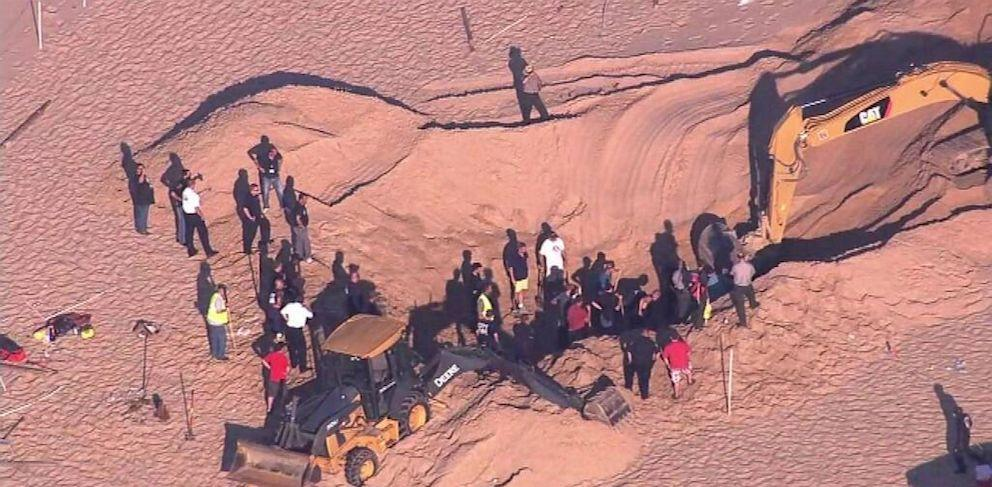 Boy Pulled From Sand Dune After 3+ Hours (ABC News)
