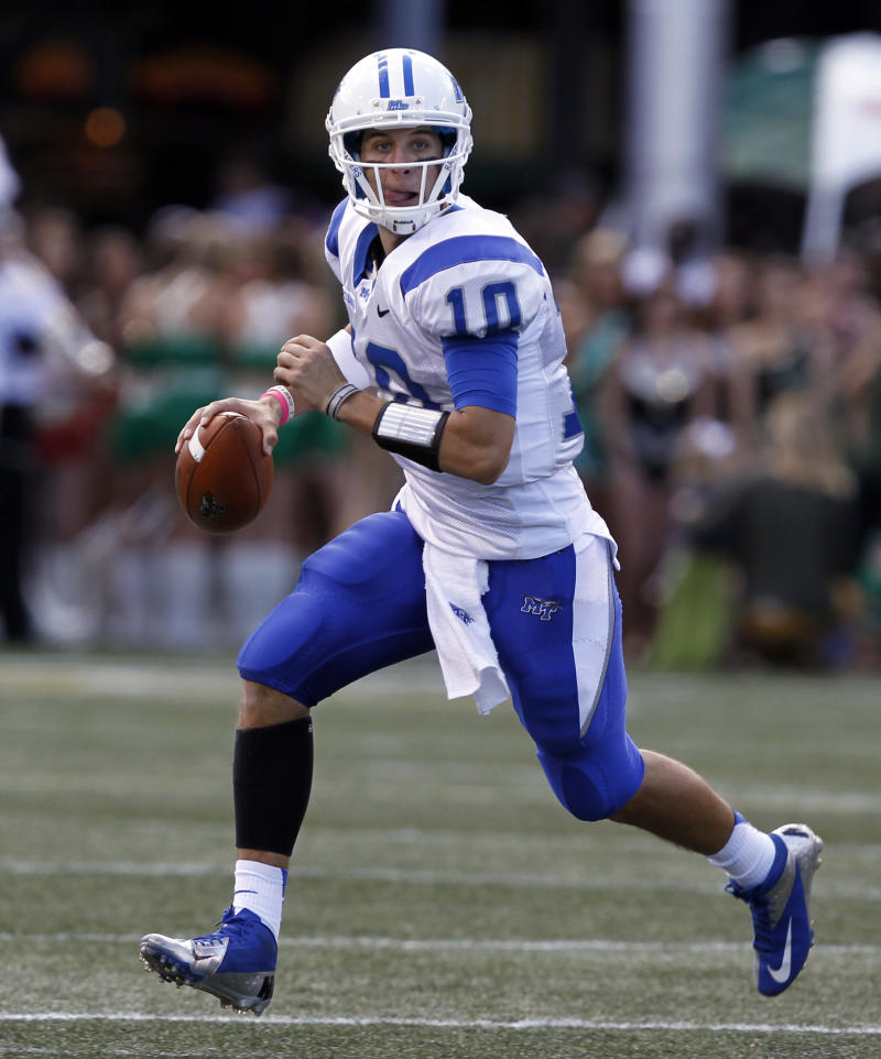 Middle Tennessee beats UAB 24-21 on late FG