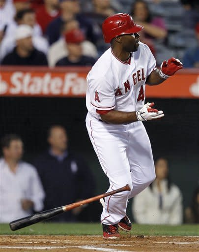 Hunter HRs, Wilson solid in Angels' win over Twins