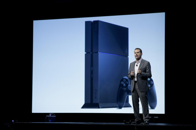 Sony takes aim at Microsoft with PlayStation 4