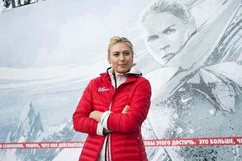 Sharapova relives childhood memories in Sochi