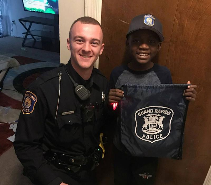 Police Surprise Bullied 9-year-old With Birthday Party