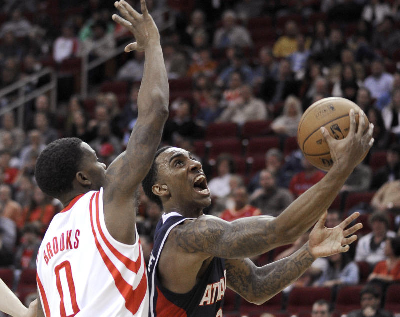 Garcia and Brooks lead Rockets over Hawks 113-84