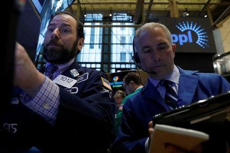 Stock futures little changed as French election in focus