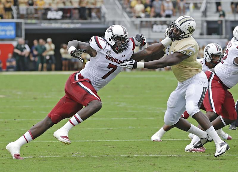 No. 13 South Carolina looking to get back on track
