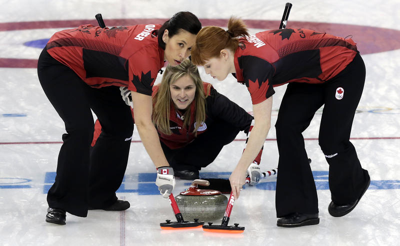In-form Canada closing in on curling semifinals