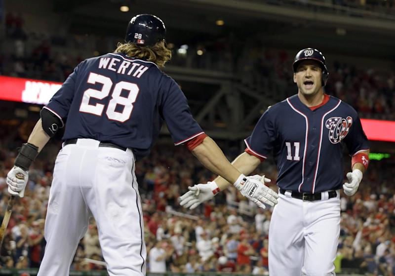 Nationals defeat Phillies 6-1 for seventh straight