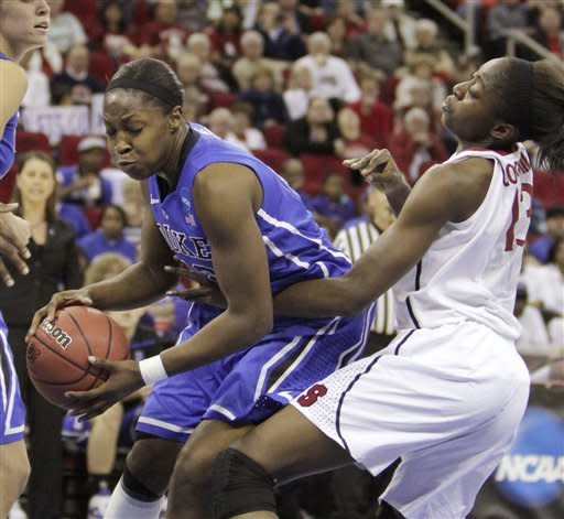 No. 1 Stanford women beat Duke to reach Final Four