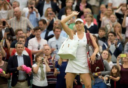 Tennis: Wimbledon Sharapova vs Riske