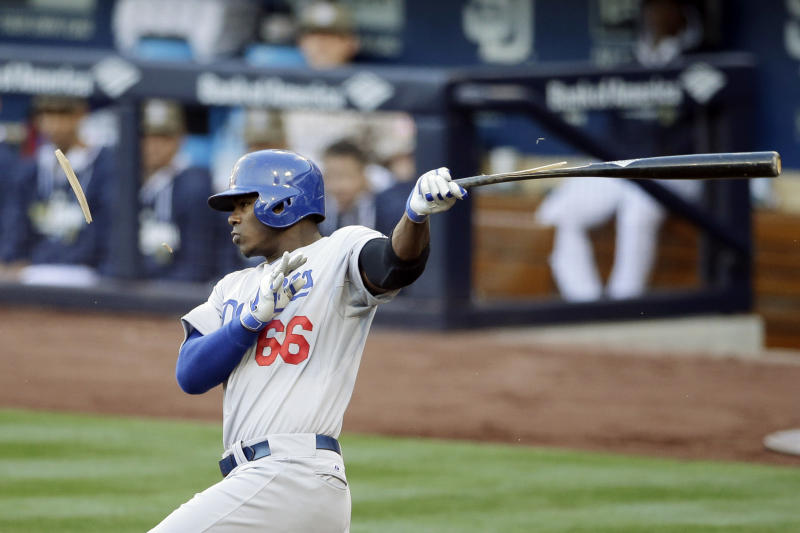 Apologetic Puig misses Dodgers home opener