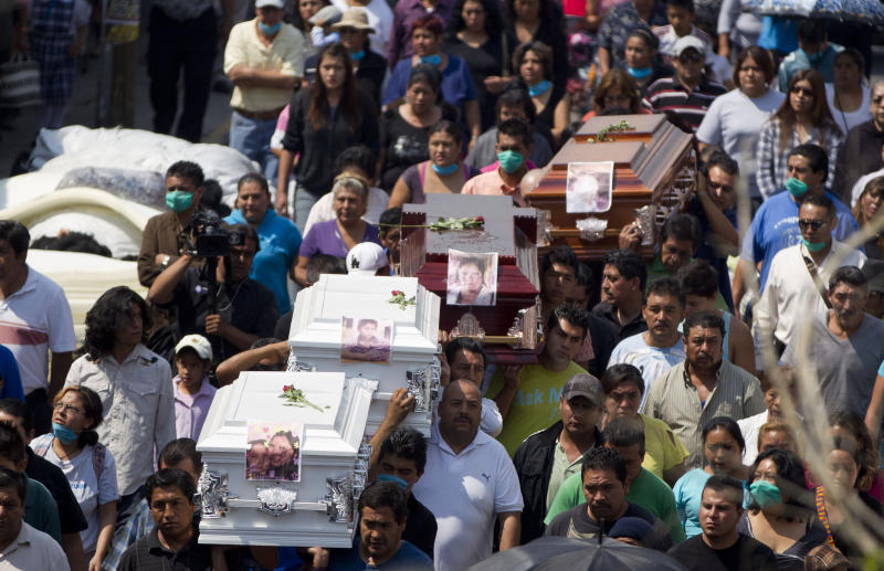 Death toll in Mexico gas explosion rises to 24