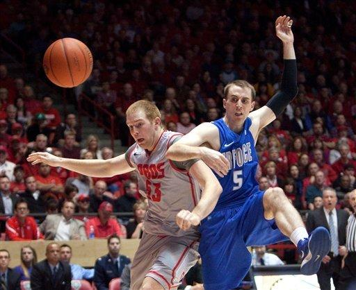 No. 15 New Mexico topples Air Force 81-58
