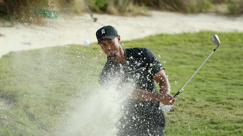 Tracking Tiger: Follow hole-by-hole look at Woods' first round back