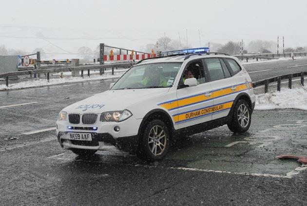 Another BMW that belongs to the Police in the United Kingdom.
