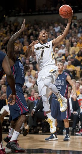 No. 21 Missouri manhandles Ole Miss 98-79