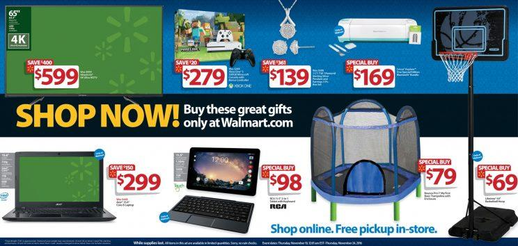 Walmart Black Friday sale items