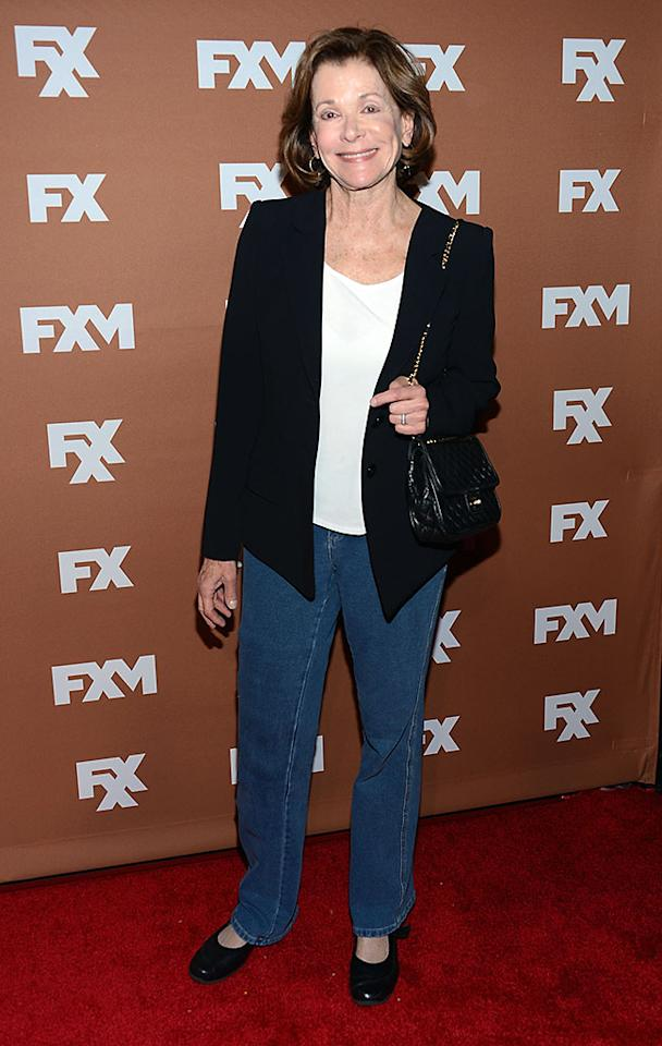 Jessica Walter attends the 2013 FX Upfront Bowling Event at Luxe at Lucky Strike Lanes on March 28, 2013 in New York City.