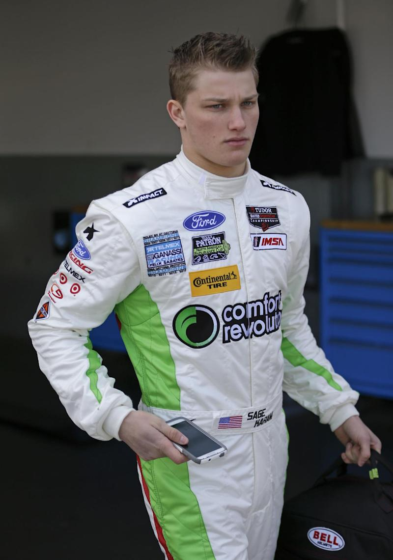 Ganassi eyeing development program for Sage Karam