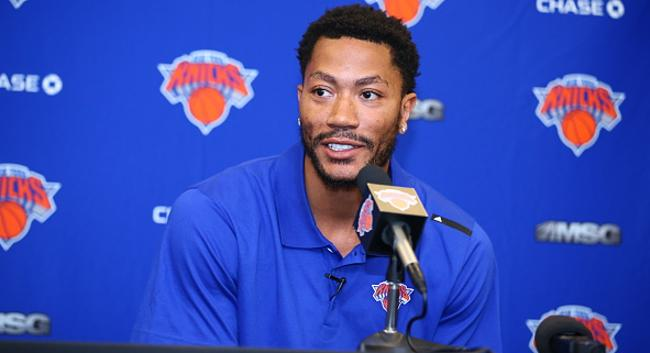 Derrick Rose Doubled Down On His Comments About The Knicks Being A 'Super Team'