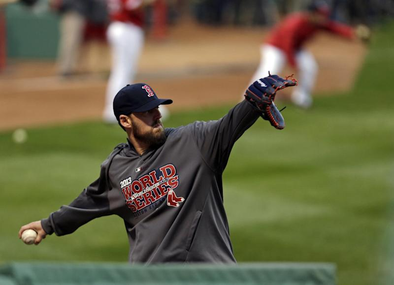 Looking ahead: Likely Peavy, Buchholz in Games 3-4