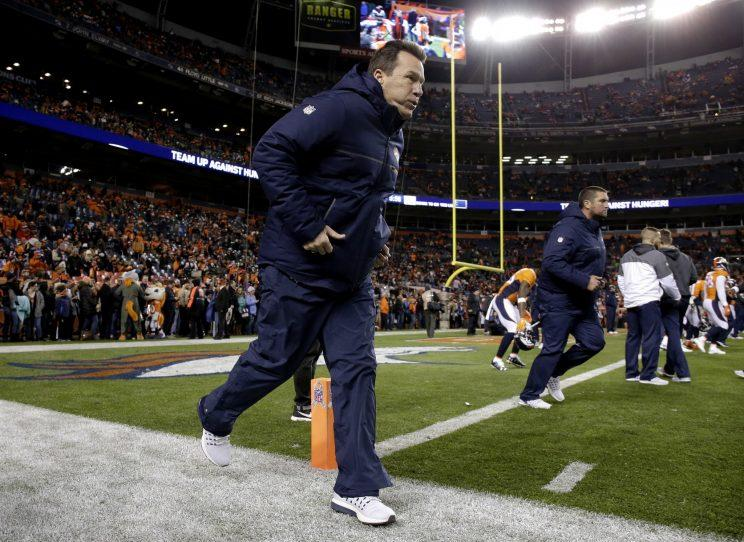 Gary Kubiak's decision in overtime backfired for the Broncos (AP)