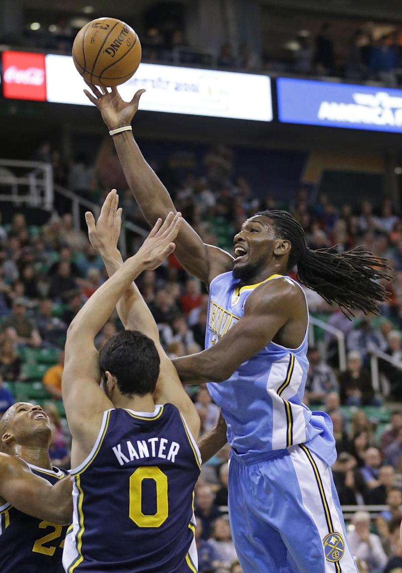 Nuggets dominate 4th, beat winless Jazz 100-81