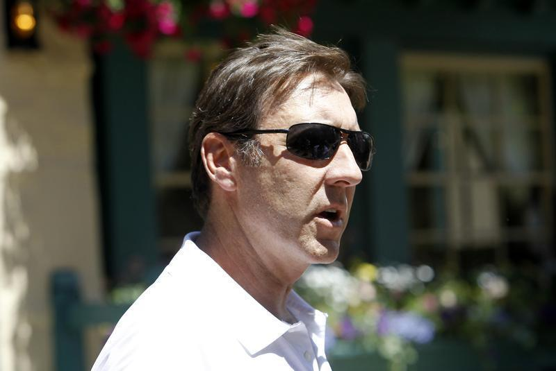 ESPN President George Bodenheimer is seen at the Sun Valley Inn in Sun Valley