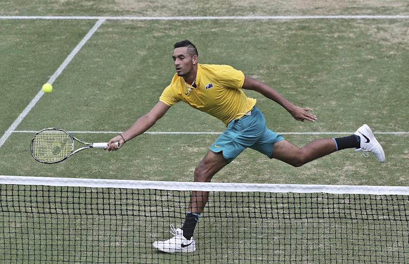 Kyrgios gets Australia off to a winning start