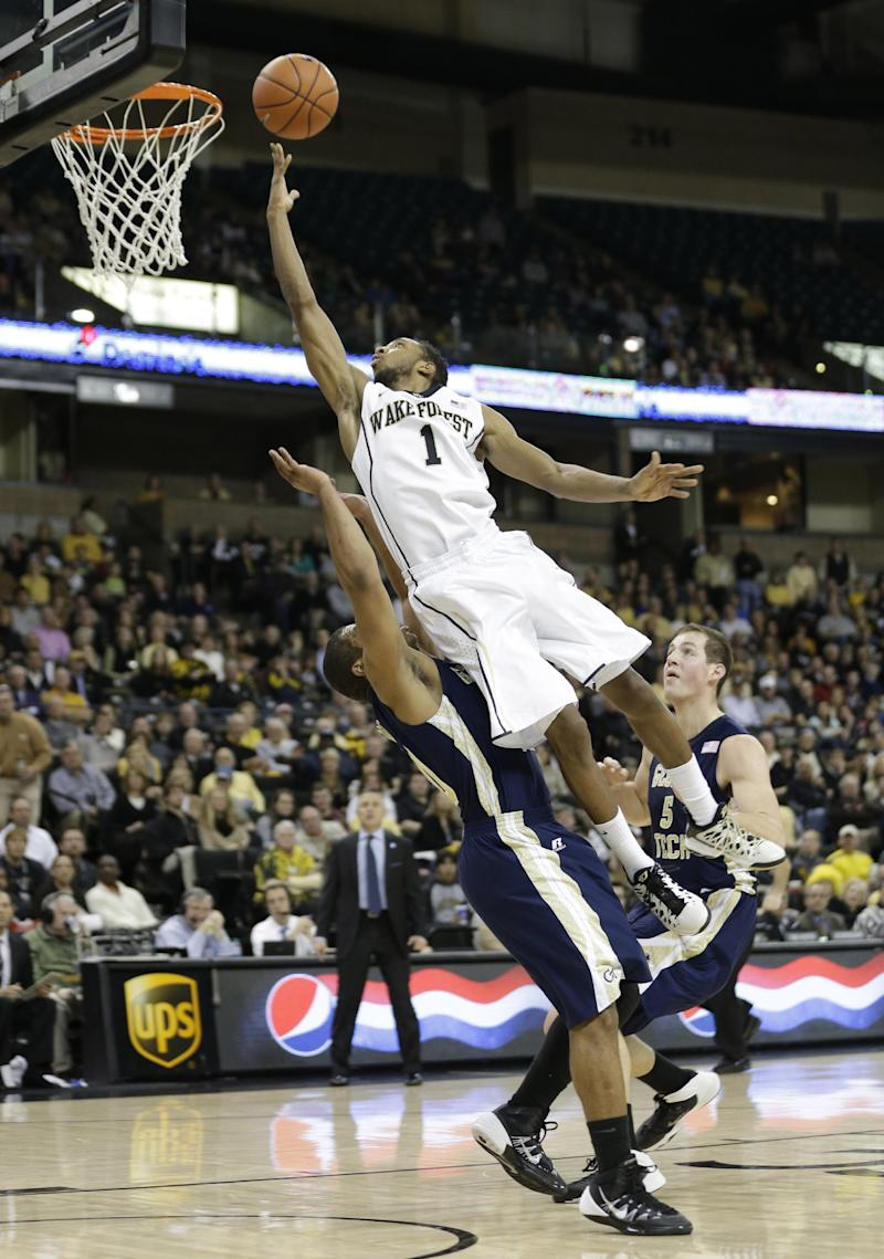 Georges-Hunt leads Ga Tech past Wake Forest, 79-70