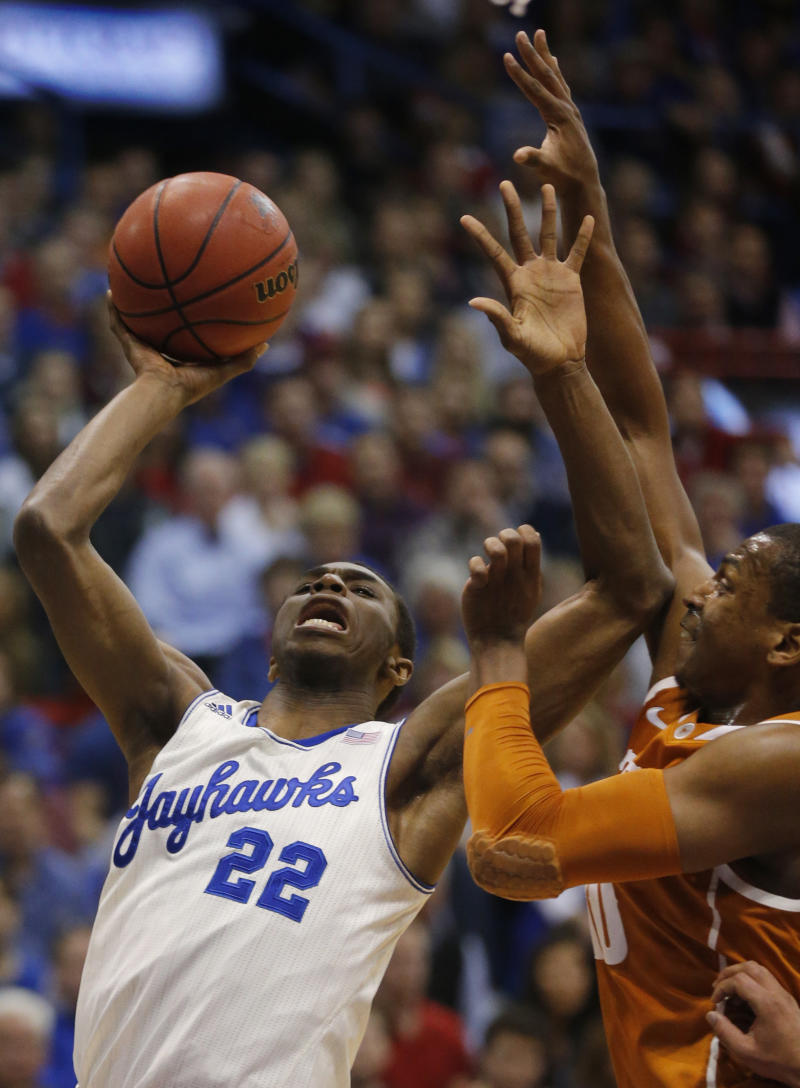 No. 8 Kansas rolls to 85-54 rout of No. 19 Texas