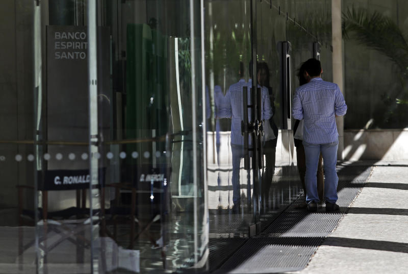 Portuguese bank says it's healthy, markets recover