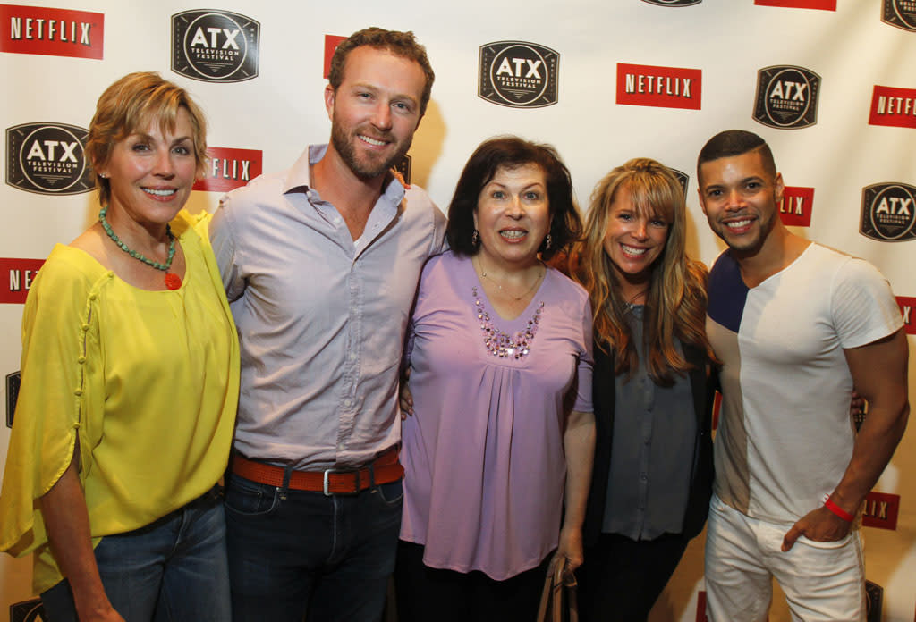 "The cast of ""My So-Called Life"" attend the Opening Night Party at ATX Television Festival on Thursday, June 6, 2013 in Austin, Texas."